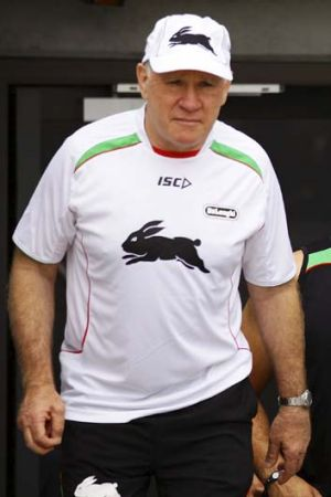 Regrets ... Souths' previous coach John Lang.