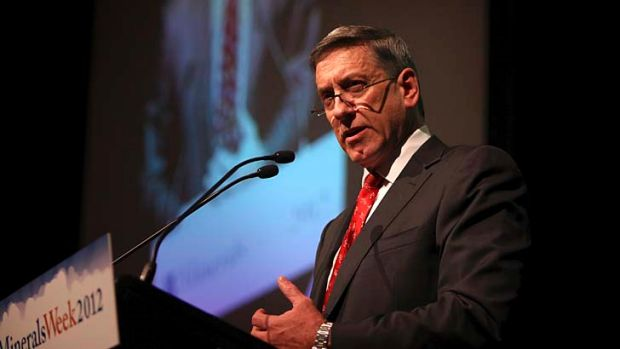 """Royalty increases are going to be a far bigger impost"" ... Minerals Council of Australia chief executive, Mitch Hooke"