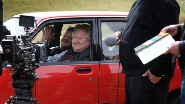 <i> Waiting for Robbo </i>was shot in Canberra, and includes Justin Rosniak and John Wood.