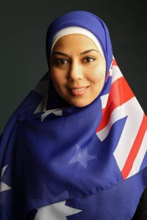 If there was an opportunity to promote a cool consensus position on Muslims in Australia, Mariam Veiszadeh took it.