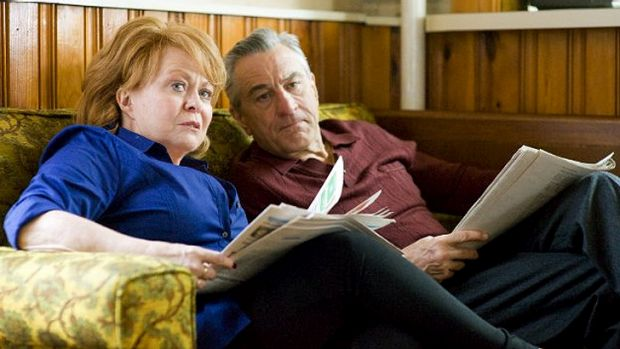 Weaver and Robert De Niro play the parents of a depressed teacher in <i>Silver Linings Playbook</i>.