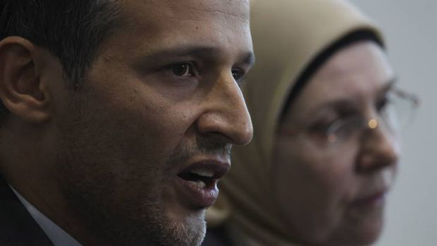 Samier Dandan, president of the Lebanese Muslim Association, says Muslims received messages of hate after the Sydney ...