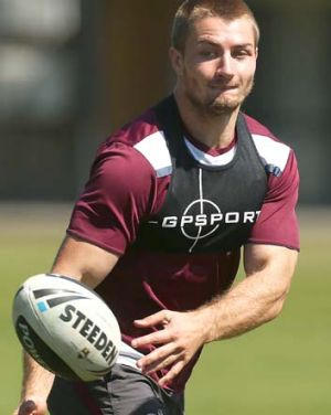 Kieran Foran of Manly today admitted he touched the ball in the lead up to Michael Oldfield's controversial try on ...