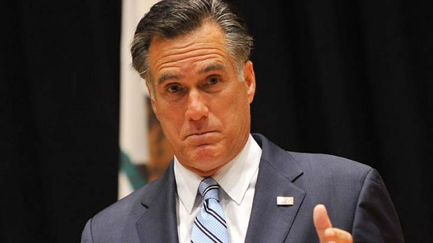 US Republican presidential candidate Mitt Romney has been forced to explain his comments to a private fundraiser.
