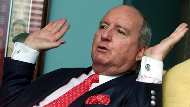 Fallout continues ... broadcaster Alan Jones.