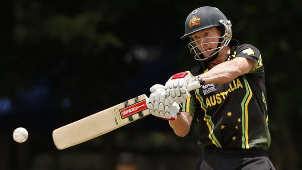 Testing time: Australia's Twenty20 captain George Bailey.