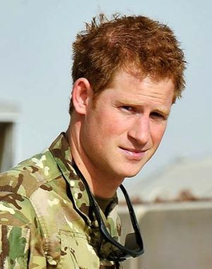 Potential target during attacks ... Prince Harry.