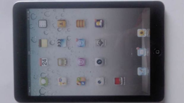 An alleged photo of the rumoured iPad Mini which appeared on the Bolopad website.