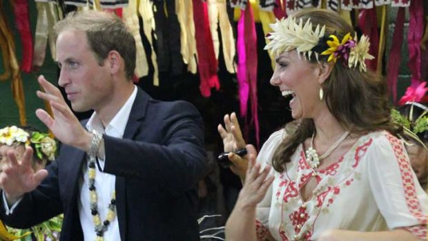 News broke of the topless pictures while the Duke and Duchess of Cambridge were on tour of Asia and the South Pacific - ...