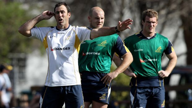 Former Wallabies assistant coach Richard Graham has reported for duty with the Reds.