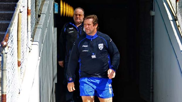 The best man to clean up the Mad Monday mess ... Des Hasler