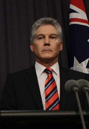 No timetable for resuming joint patrols ... the Defence Minister, Stephen Smith.