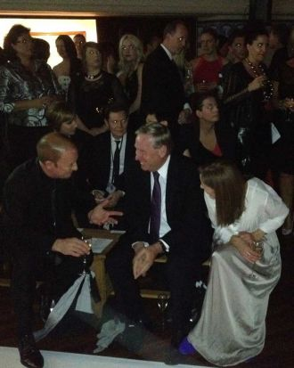Premier Colin Barnett and wife Lyn f-row at opening night of PFF 2012.