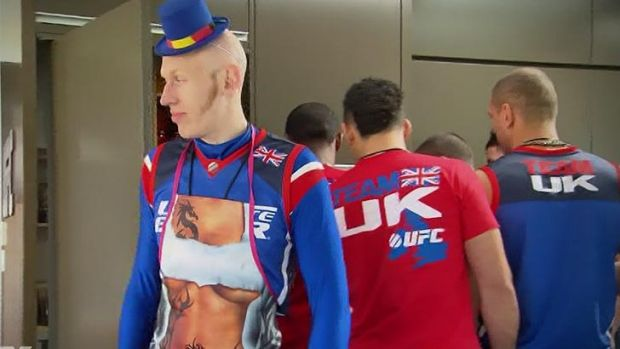 """Colin """"Freak Show"""" Fletcher will take on fellow Brit Norman Parke in the lightweight final of TUF: The Smashes."""