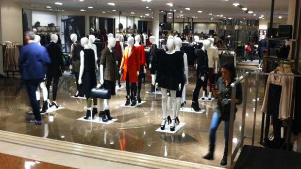 Zara's mecca to fashion in Milan - an Aussie shopper's dream. <i>Photo: Georgina Safe</i>