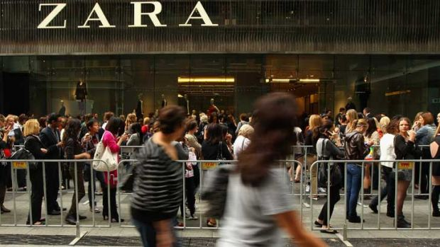 Zara's Sydney outposts saw hordes turn out for their openings - but local customers are offered far less than their ...