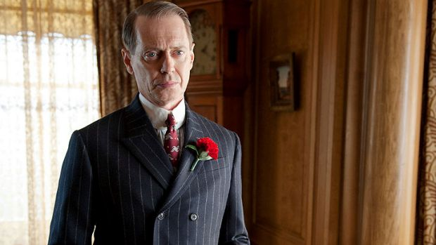 <i>Boardwalk Empire</i>'s king of illicit booze, Enoch 'Nucky' Thompson (Steve Buscemi), is back to his old ways.