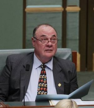 Bid dismissed ... chief opposition whip Warren Entsch.