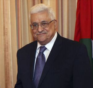 Hero … Mahmoud Abbas says he is ready to talk with Israel.