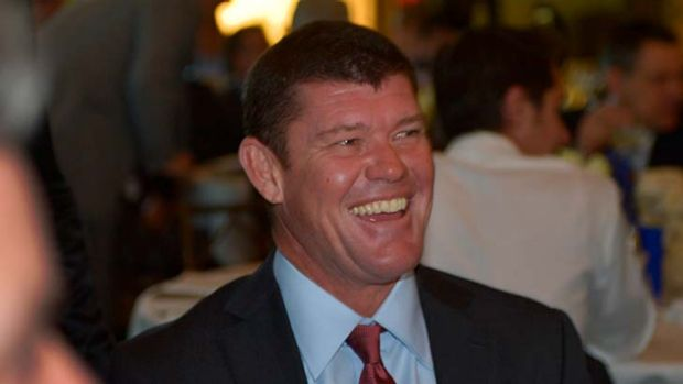 Taken to task over China ... James Packer.