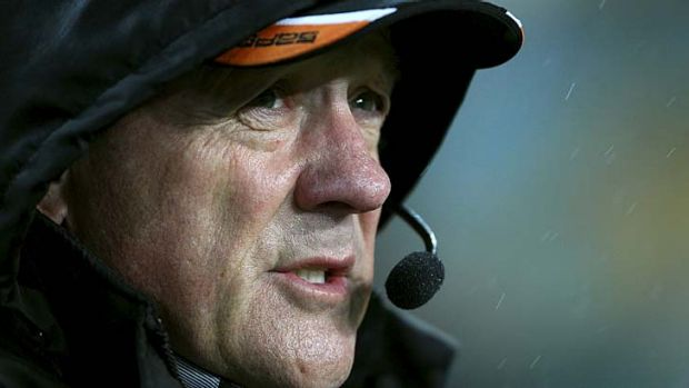 Tim Sheens ... expected to leave the Tigers in the next few days.
