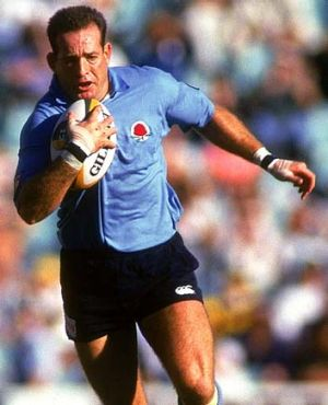 Dashing ... David Campese is a proponent of running rugby.
