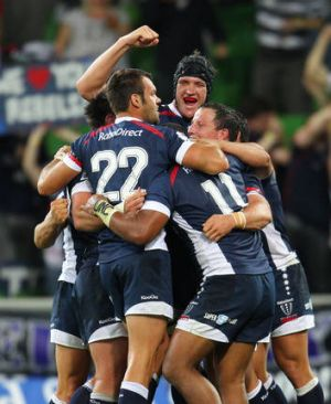 The Melbourne Rebels, pictured, will host the Western Force in next year's season opener on February 13.
