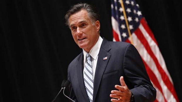 """""""They should take personal responsibility and care for their lives"""" ... Mitt Romney."""