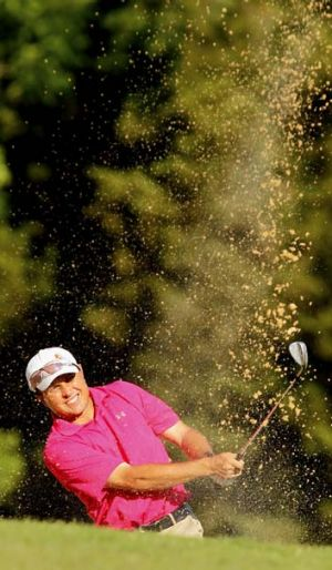 Scott Gardiner … set to become the first indigenous Australian to play on the USPGA Tour.