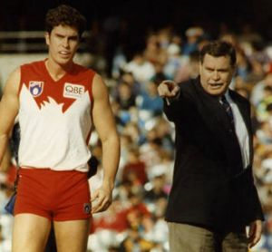 Hard man: Ron Barassi.