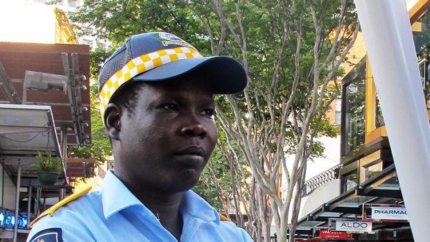 Police Liaison Officer Simon Ayiik.
