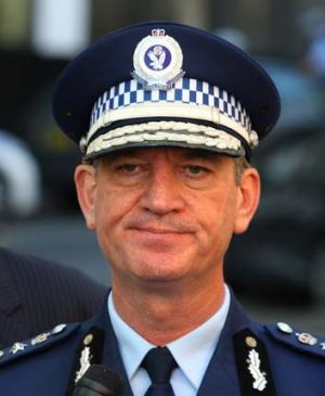 "Allegations ... high ranking officers may have been involved in ""criminal conduct"". Above, NSW Police Commissioner, ..."