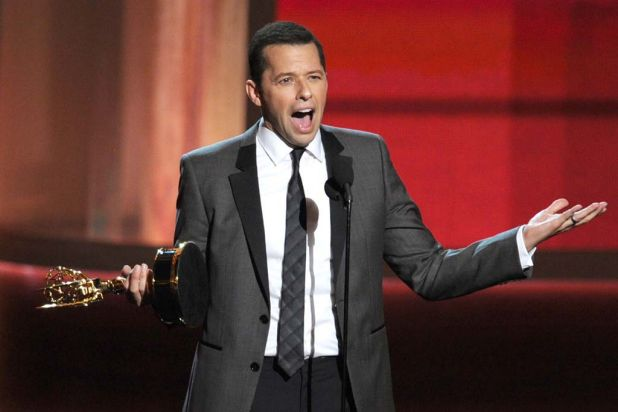 """Something has clearly gone terribly wrong"" - Jon Cryer on winning outstanding actor in a comedy series."