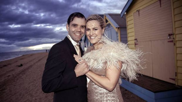 Grant McIntyre and Maxine Morrison kept the lid on costs for their June wedding.