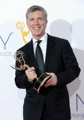 """Television host Tom Bergeron, winner Outstanding Host for a Reality or Reality-Competition Program for """"Dancing with the ..."""