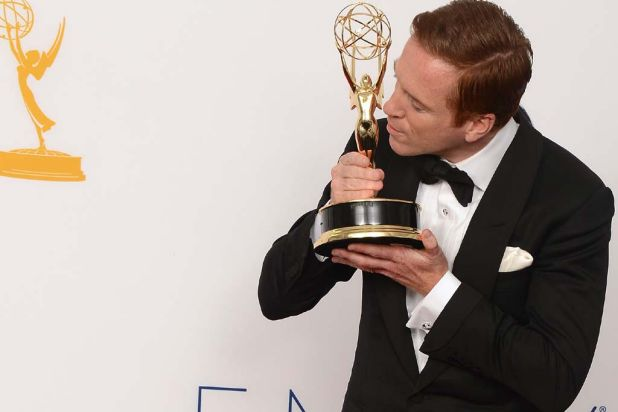 Damian Lewis beat the likes of Jon Hamm, Steve Buscemi and Bryan Cranston for lead actor in a drama.