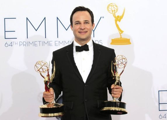 Danny Strong holds the Emmy awards for outstanding writing for a miniseries or movie and outstanding miniseries or movie ...