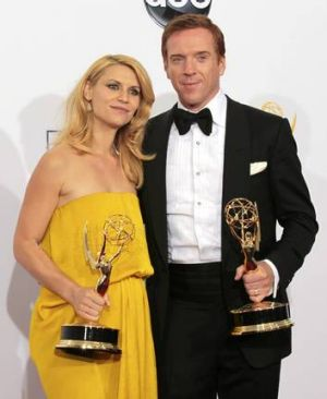 Claire Danes and Damian Lewis scooped Emmys for their roles in <em>Homeland</em>.