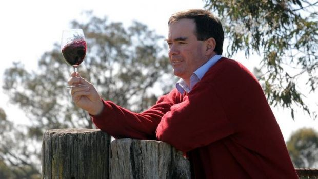 Winemaker at Clonakilla Winery, Murrumbateman, Tim Kirk.