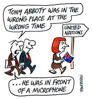 Illustration: Ron Tandberg