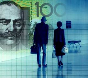 There are now ten green $100 notes in circulation for each Australian.