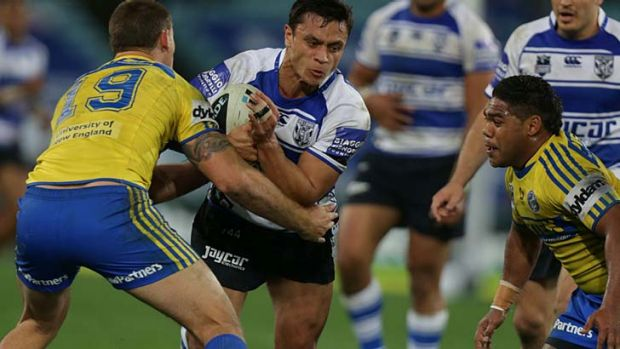 Lucky charm ... Sam Perrett's record stands at 10 from 11.