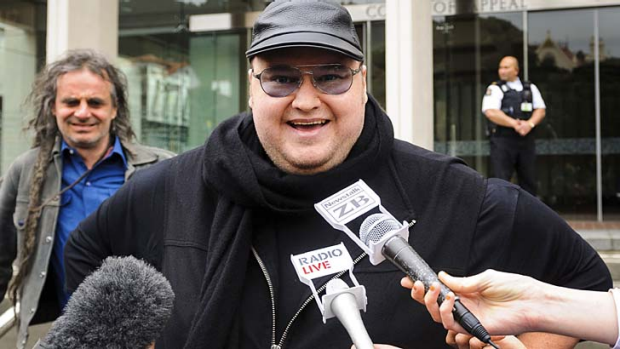 """I'm now a real life James Bond villain"" ... Kim Dotcom."