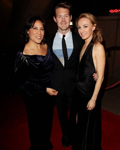 Kate Ceberano, Eddie Perfect and Lisa McCune arrive at the 2012 Helpmann Awards at the Sydney Opera House