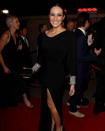 Lisa Campbell arrives at the 2012 Helpmann Awards at the Sydney Opera House