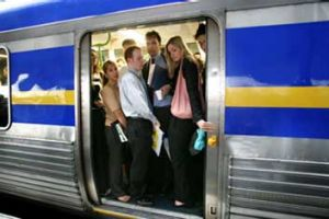 Overcrowding on public transport is now a bigger issue for many than travel times or fares.