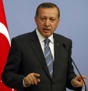 "Calling for ""international legal regulations against attacks on what people deem sacred"" ... Turkish Prime Minister ..."