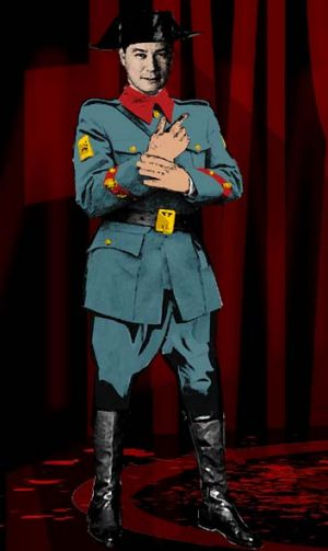 Don Jose ... the naive soldier.