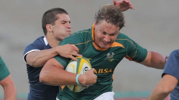 South Africa under-20s lock Ettienne Oosthuizen has signed with the Brumbies.