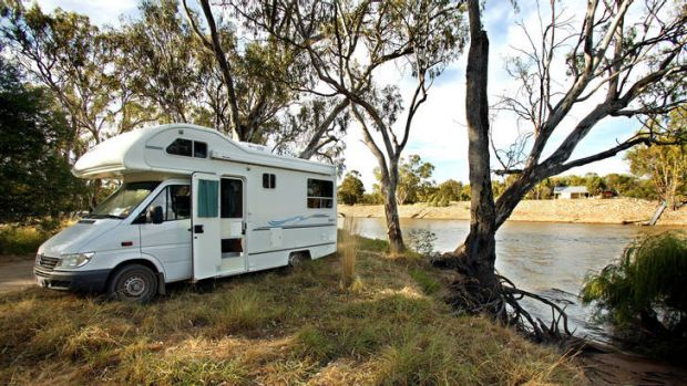 The ACT Greens want to increase the ACT's share of the growing market for retirees travelling Australia by caravan.